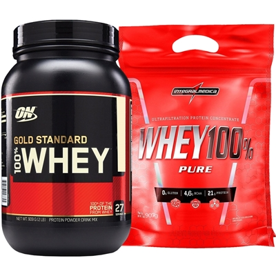bb2962d1d COMBO Whey Gold Standard (900g) + Super Whey 100% Pure (907g ...