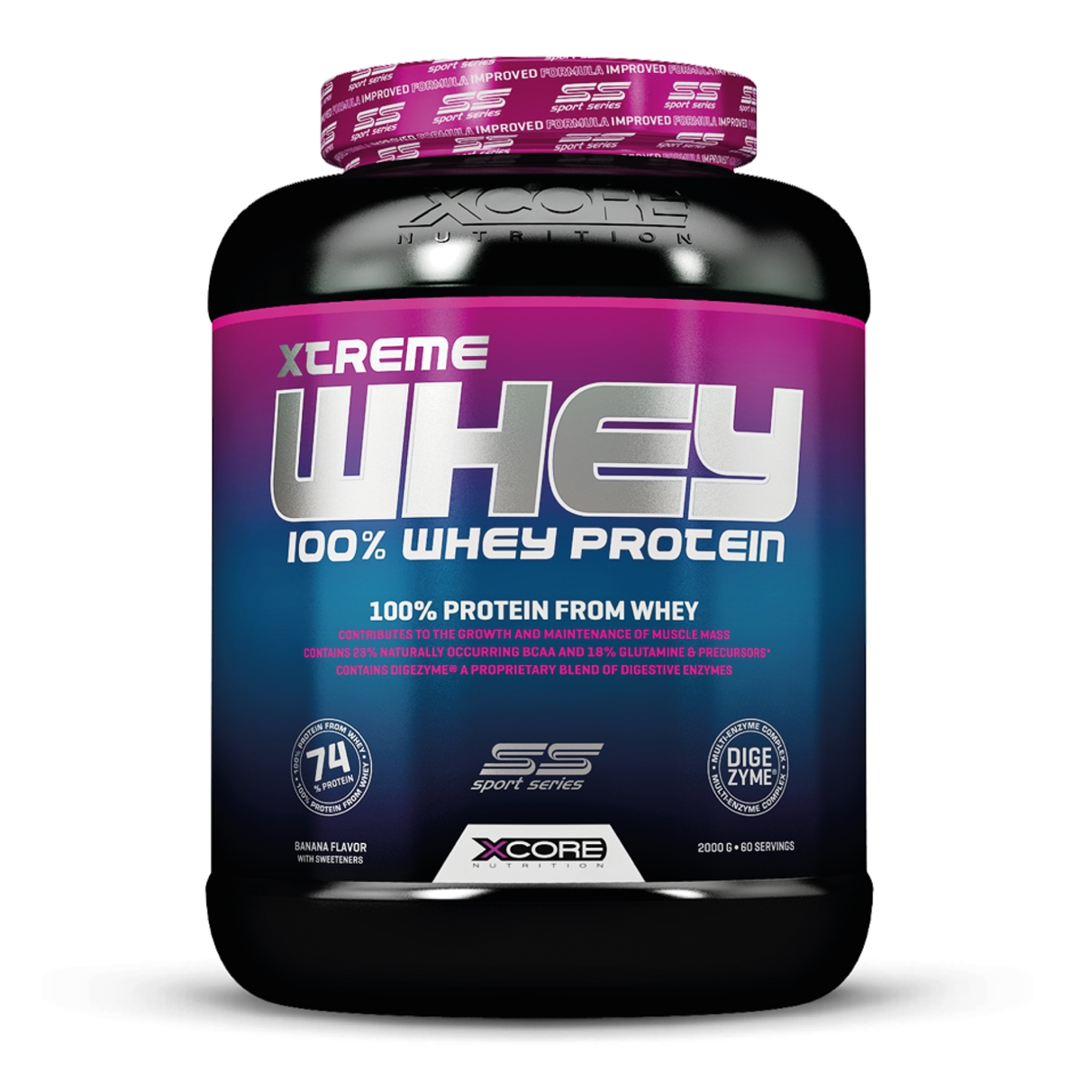 7f87a9434 Whey Protein Xtreme - XCore Nutrition (2kg)